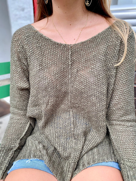 Hard To Miss Sweater