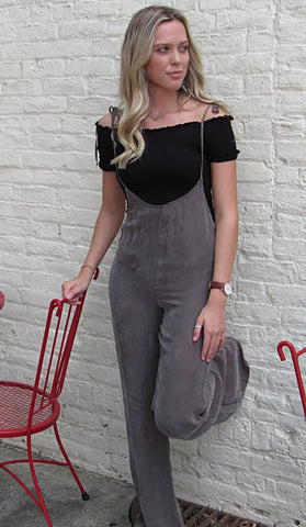 Charcoal Overalls