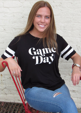 Game Day Print Tee