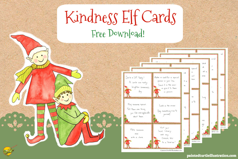 Kindness Elf Cards