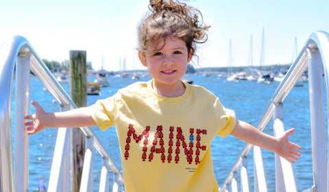 Maine toddler shirt