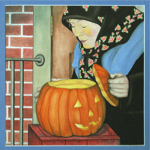 Shy Mama's Halloween- Mama Blows Out the Candle