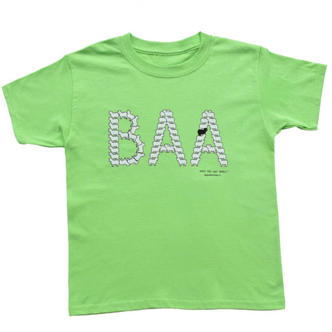 BAA Sheep Youth Tee