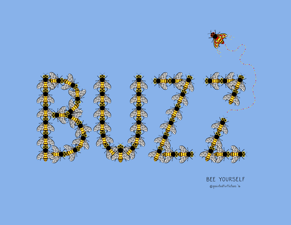 BUZZ Bee Adult Tee