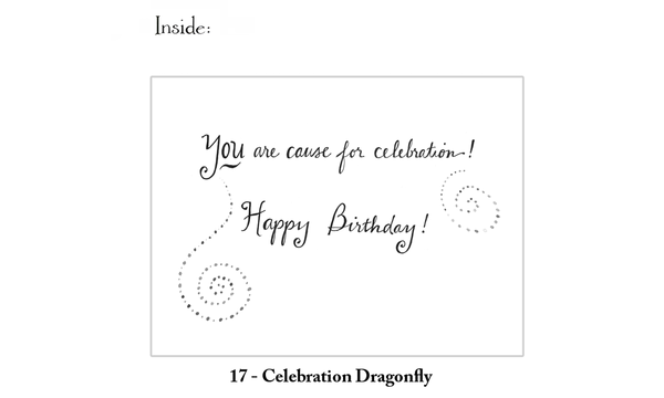 Celebration Dragonfly Birthday Greeting Card