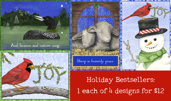 NEW! Holiday Bestsellers 4 Pack (Text inside)