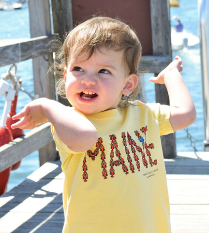 MAINE Lobster Infant Tee