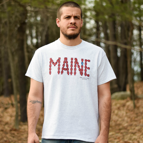 MAINE Lobster Adult Tee