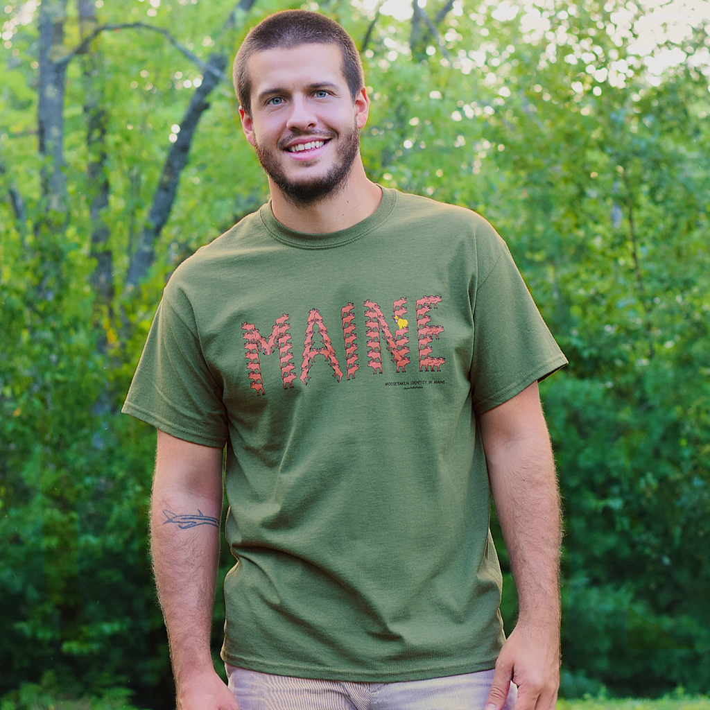 MAINE Moose Adult Tee