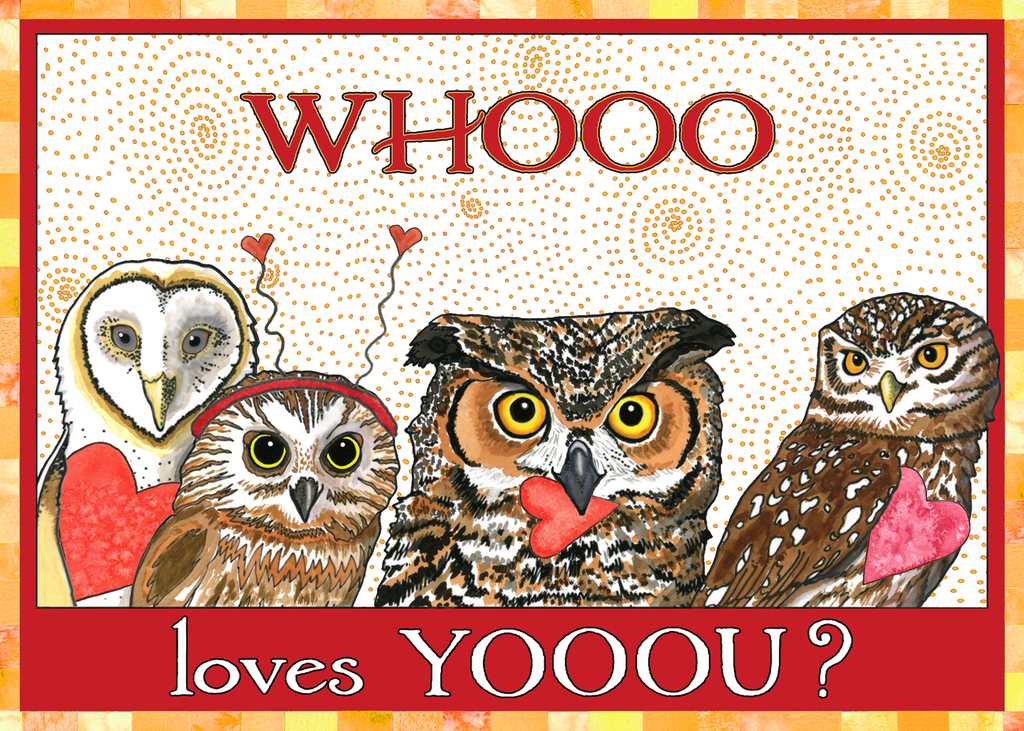 Love Owls Love/Anniversary Card
