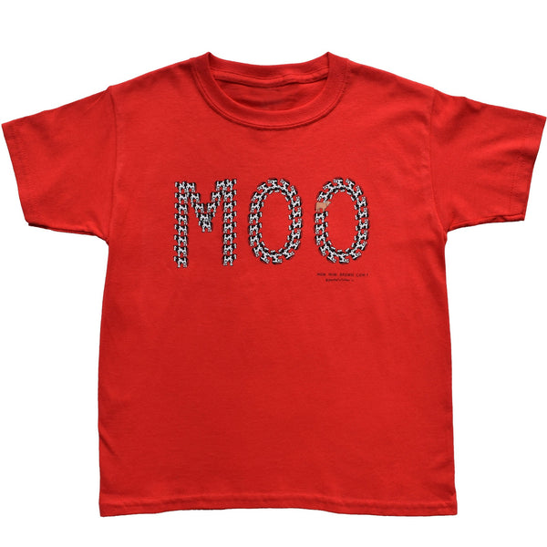 MOO Cow Youth Tee