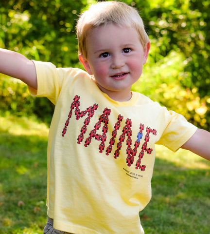 MAINE Lobster Toddler Tee