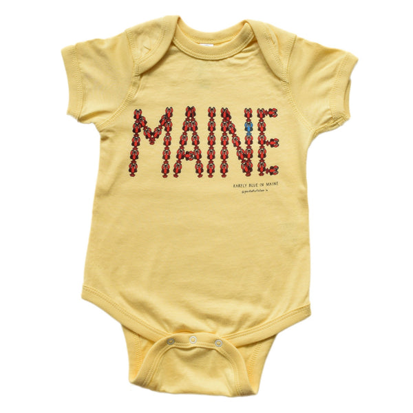 MAINE Lobster Infant Bodysuit