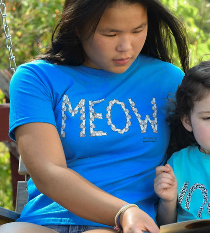 MEOW Cat Youth Tee
