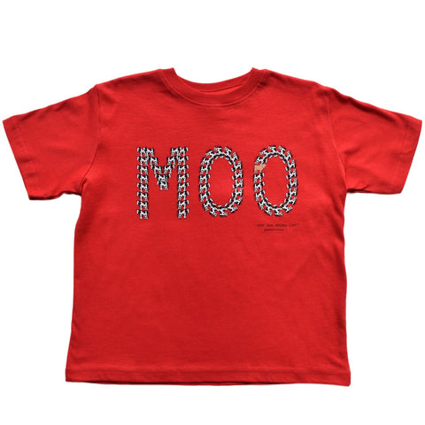 MOO Cow Toddler Tee