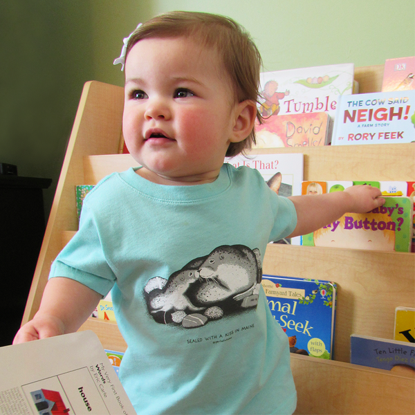 Sealed With a Kiss in Maine Infant Tee