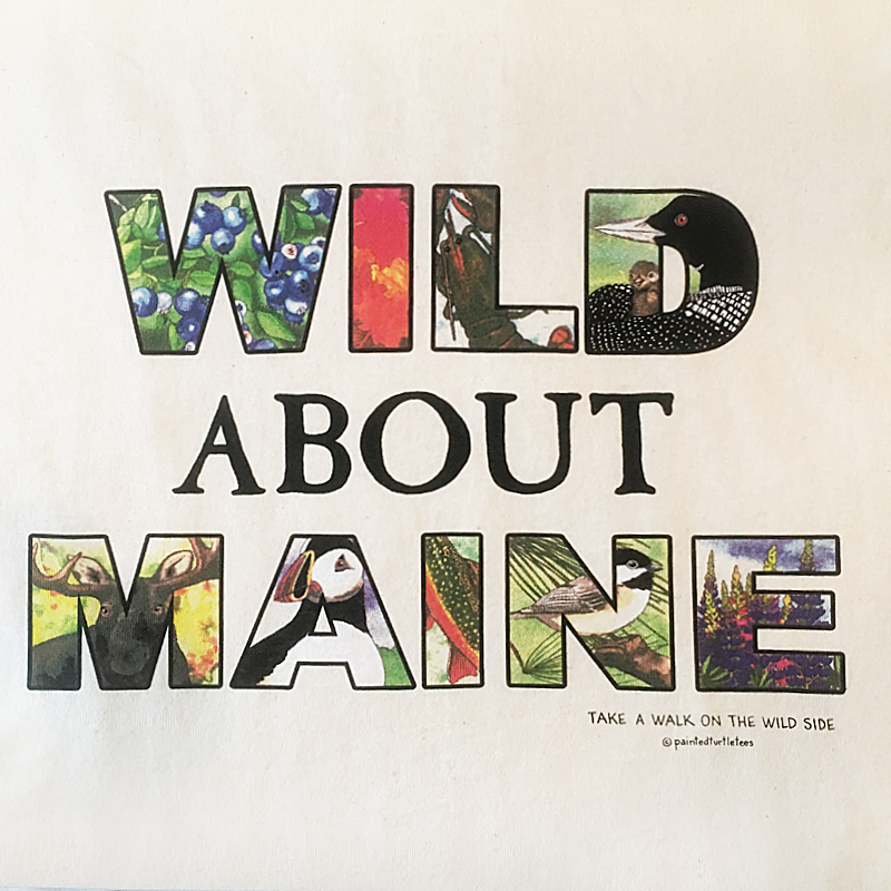 WILD About MAINE Adult Tee