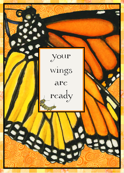 Your Wings Are Ready Monarch Graduation/New Beginning Card