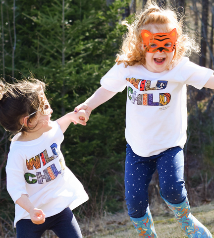 Wild Child Toddler Tee