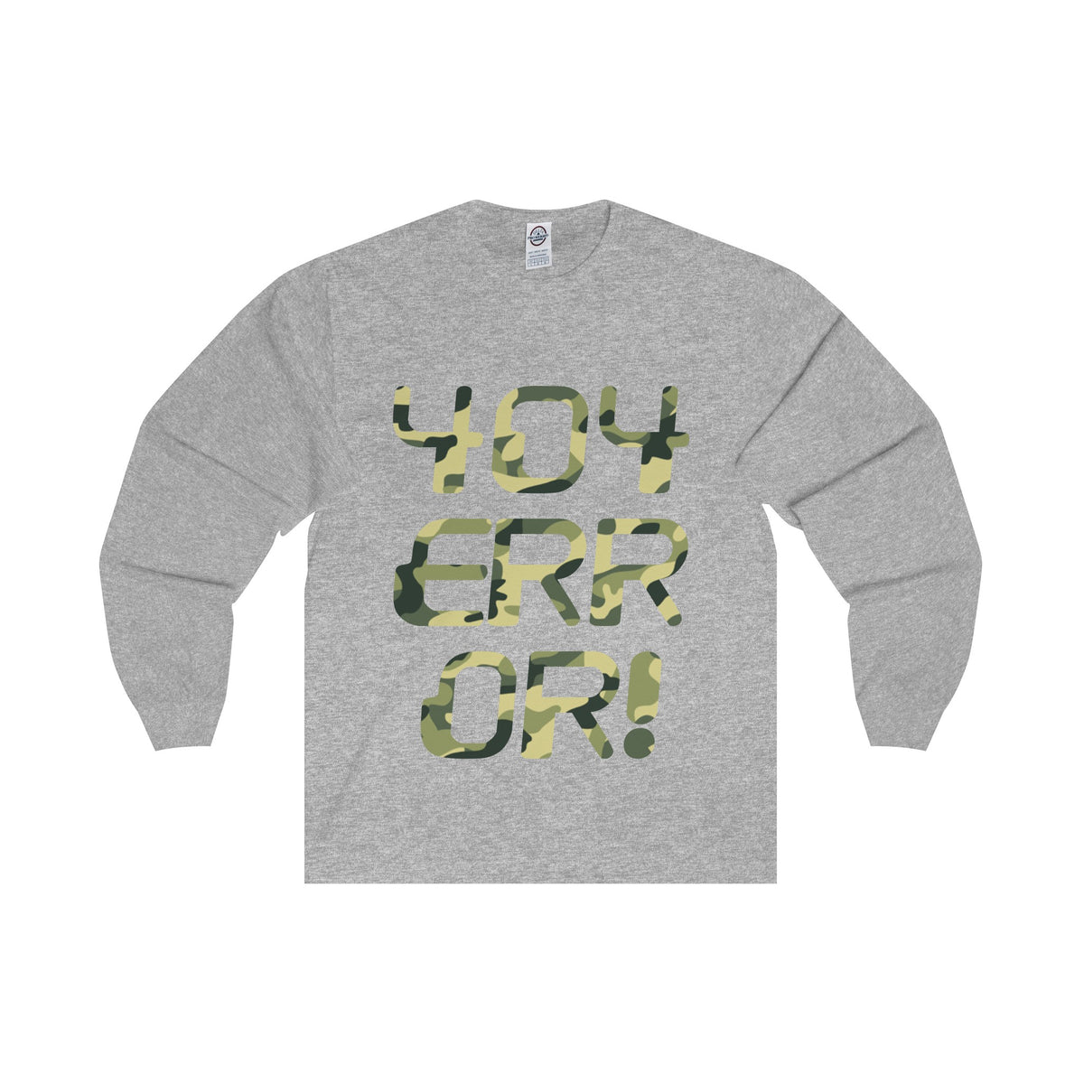404 Error! Camo Long Sleeve