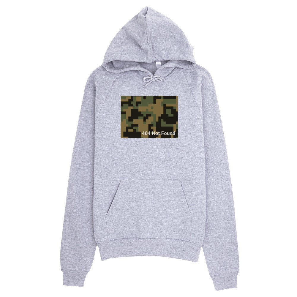 404 Not Found - Camo Hoodie