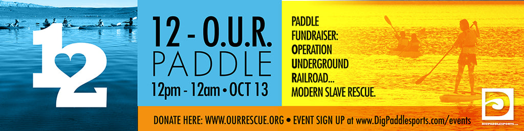 "Free Event - Paddle & Play at ""12-O.U.R. Paddle"" - Oct 13th!"