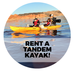 Rent a 2-Seat Kayak!