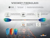 Aquabound Kayak Paddle - Whiskey Fiberglass