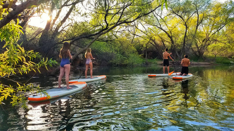 SUP/Kayak Adventure Tour - Half or Full Day