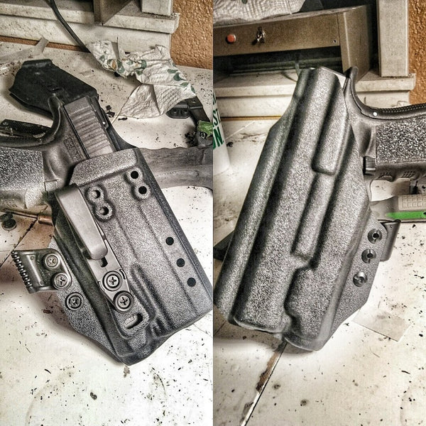 *CLOSEOUT* Modular light bearing IWB holster Glock W/ Inforce APL