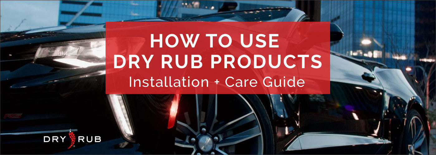 How to Use Dry Rub Car Seat Covers and Accessories