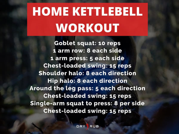 home workout - kettlebell