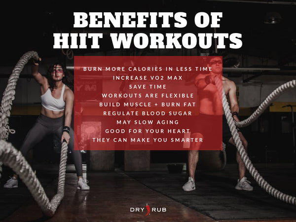 benefits of HIIT workouts