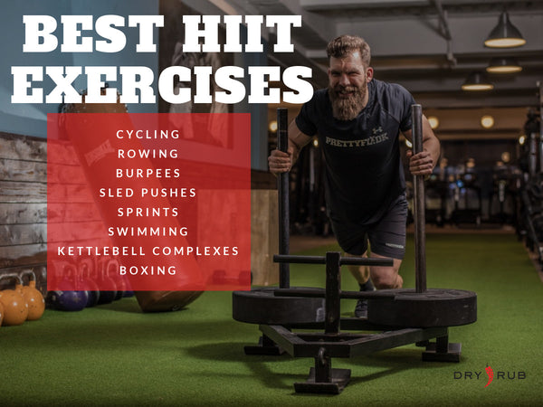 best exercises for HIIT workouts