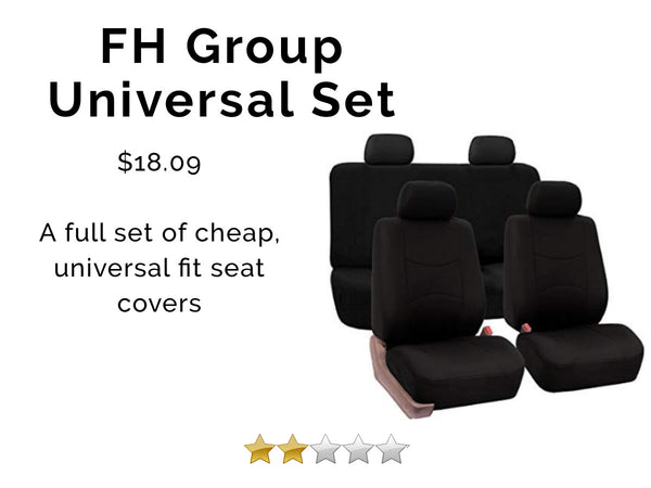 best car seat cover, fh group car seat cover review