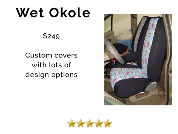 best car seat cover, wet okole review