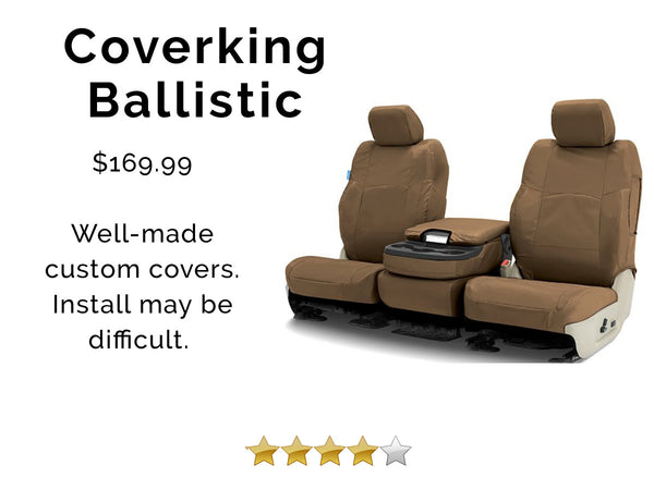 best car seat cover, coverking ballistic review
