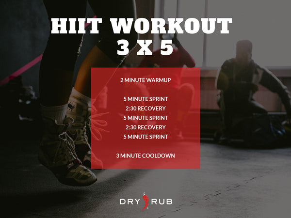 HIIT WORKOUT - 3X5