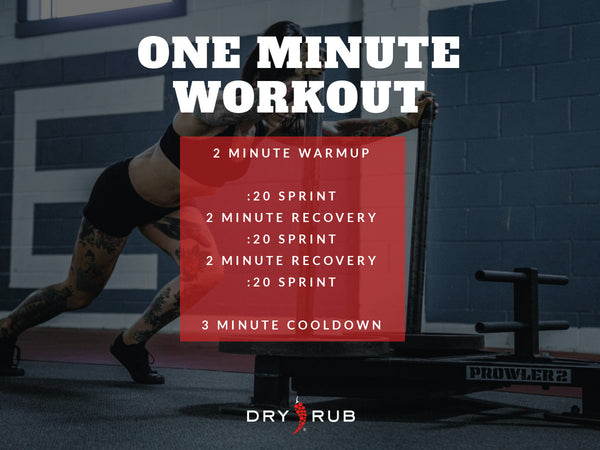 HIIT WORKOUT ONE MINUTE WORKOUT