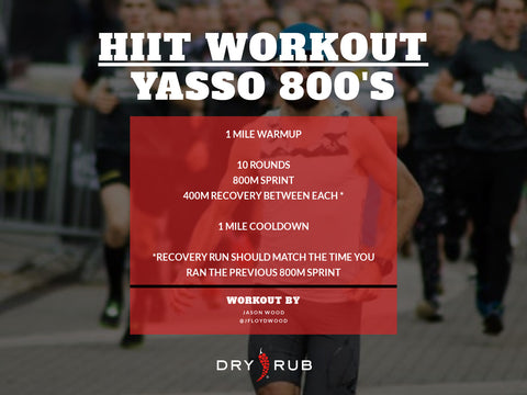 home workout - yasso 800's