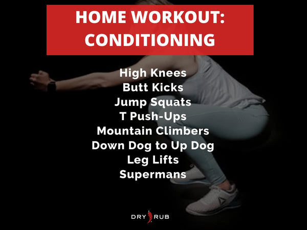 home workout - conditioning