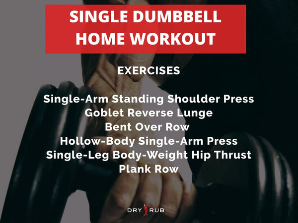 home workout - dumbbell workout
