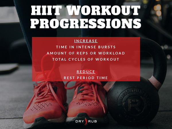 HOW TO PROGRESS HIIT WORKOUTS