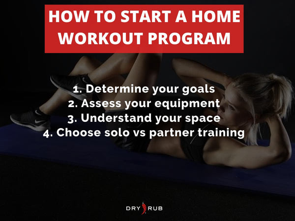 home workout - how to choose a home workout program