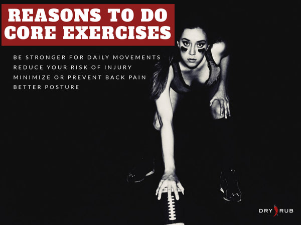 reasons to do core exercises