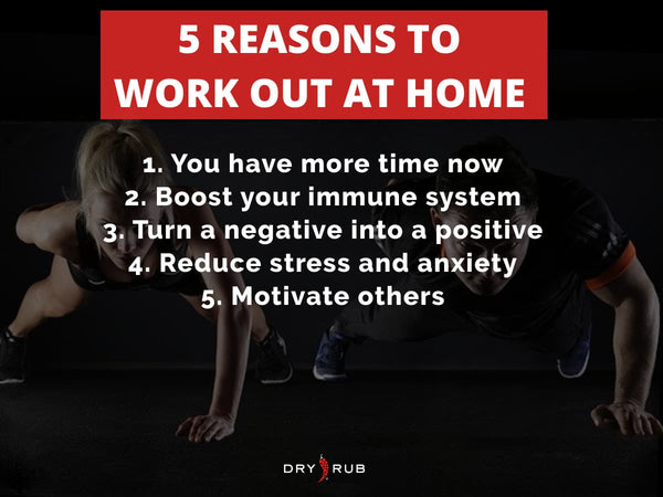 home workout - reasons to work out at home