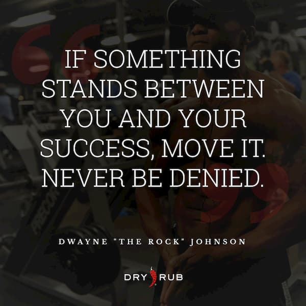 fitness quote - don't be denied