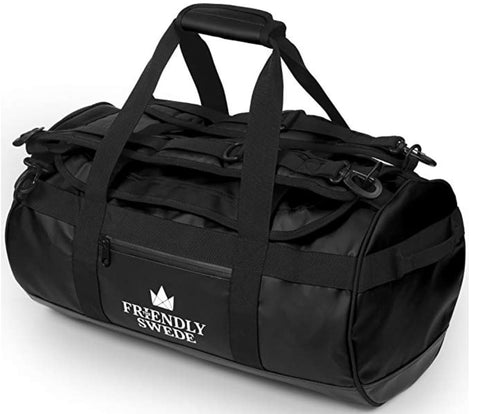 best gym bag 2020, friendly swede gym bag, gym bag for him, gym bag for her