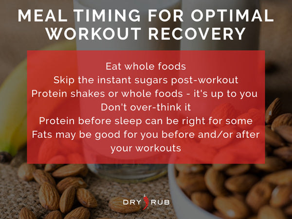 meal timing, best foods for workout recovery, how to recover after your workout, best workout recovery tips, best foods for athletes, how to recover after a tough workout, muscle recovery, muscle soreness