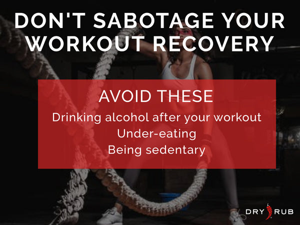 workout recovery, workout recovery tips, how to recover after a workout,